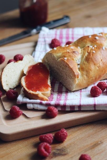 Mit Marmelade oder veganer Butter - ein Traum