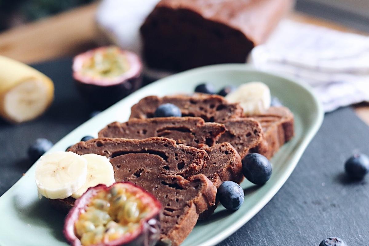 Chocolate banana-bread